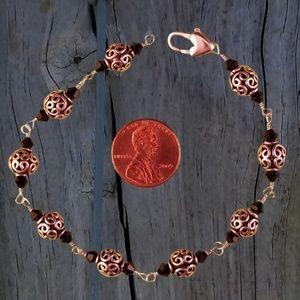 Sterling Bracelet with Swarovski Crystals